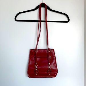 Vintage Vera Pelle Bag. Made in Italy. Adjustable